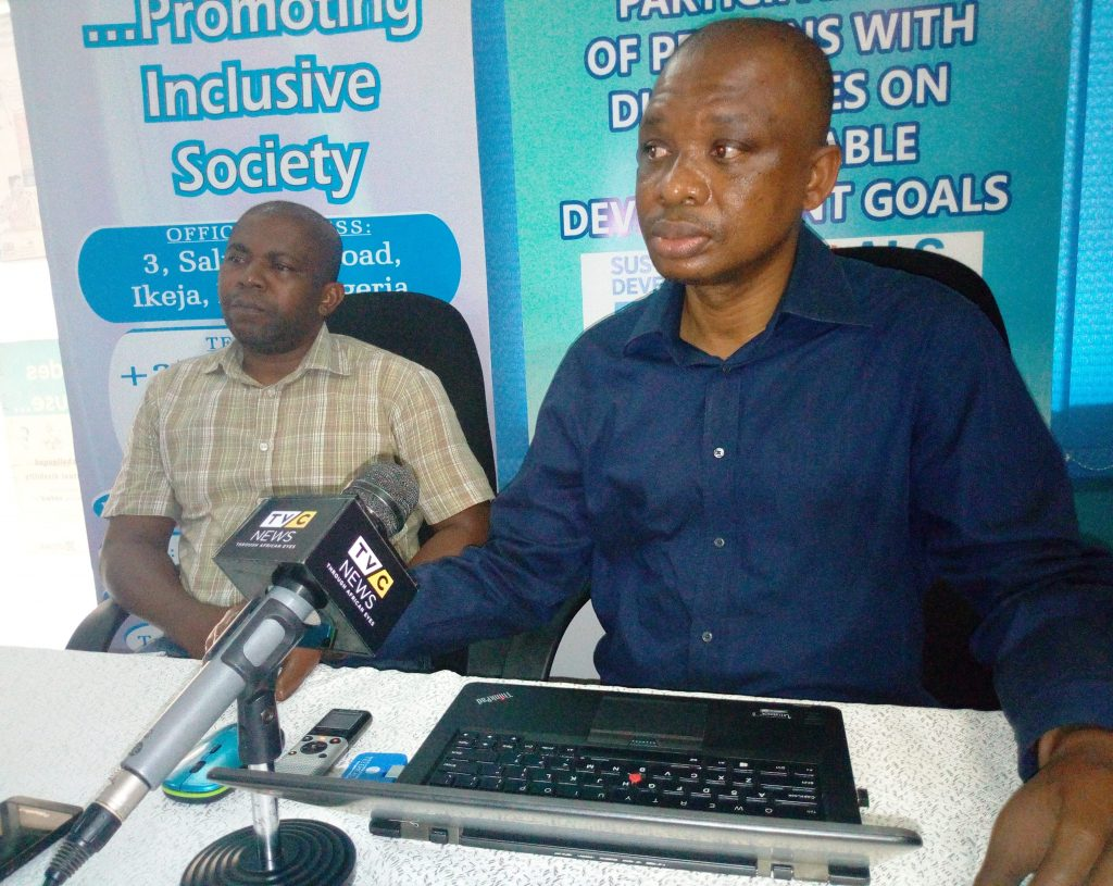 CCD TASKS LAGOS STATE GOVERNMENT ON ACCESS TO PUBLIC  TOILET FACILITIES FOR PWDS.