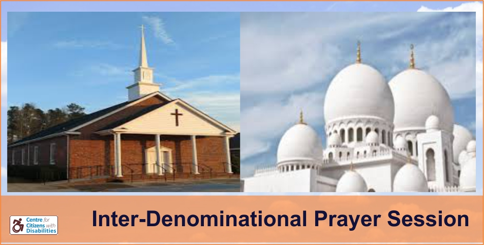 Inter-Denominational Prayer Session
