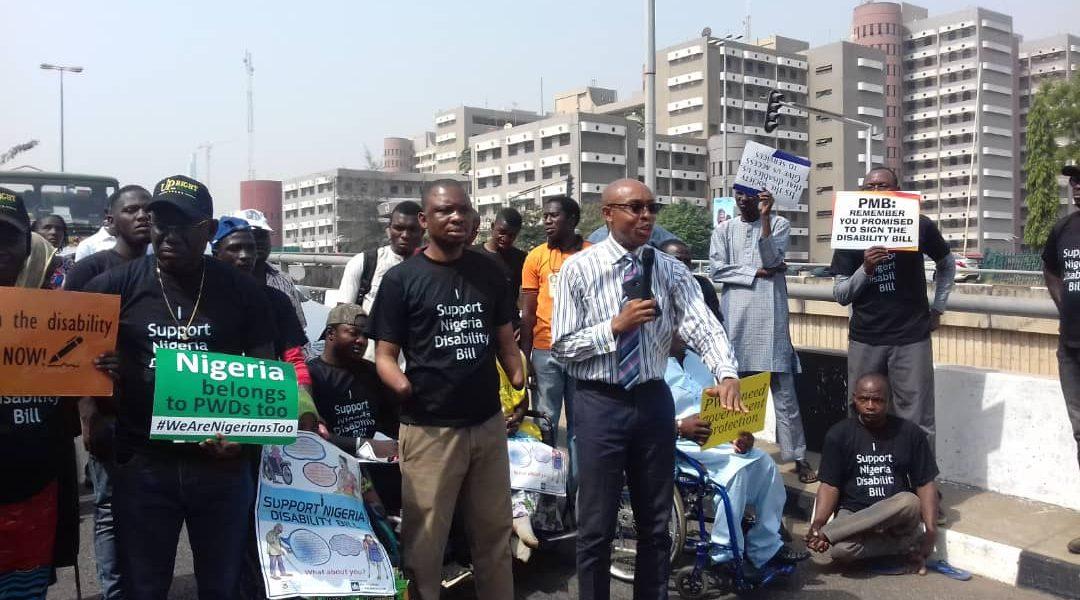Solidarity march at Abuja