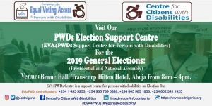 EVA4PWDs Election Support Centre