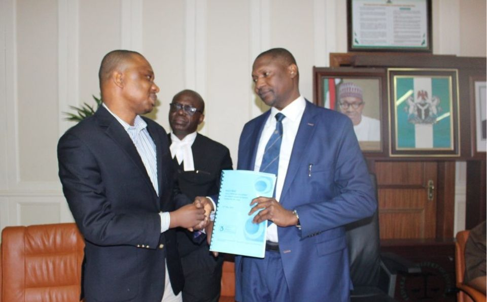 Mr David with Attorney General