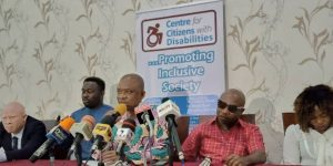 CCD's press conference on the exclusion of Nigerians with Disabilities in the List of Ministerial Nominees