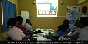 CCD hosted WHER, DDF and Voices for Inclusion team in Abuja