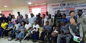 Group Photograph at Stakeholders' strategic meeting for PWDs on Corruption, Policy Formation and Disability Law