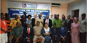 Stakeholders' forum to 'Promoting the United Nations Convention on the Rights of PWDS in Nigeria'